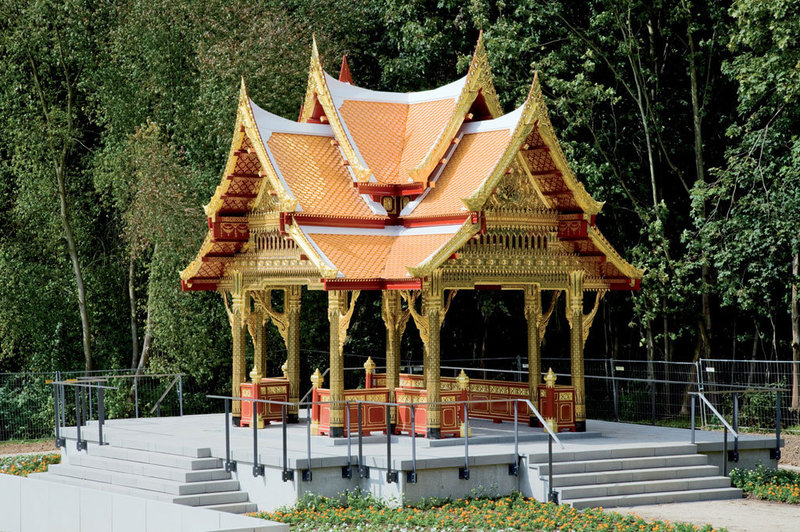 Thai-Sala in the Park and Thai-Sala at the spring - Discover